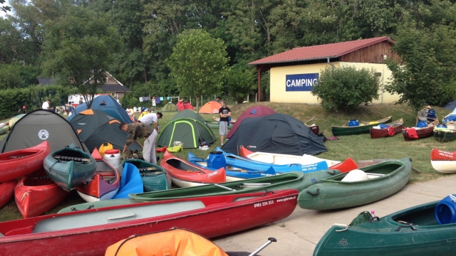 Bufet a camping
